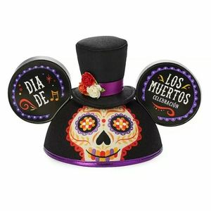 Disney  Mickey Mouse Ears Hat Day of the Dead